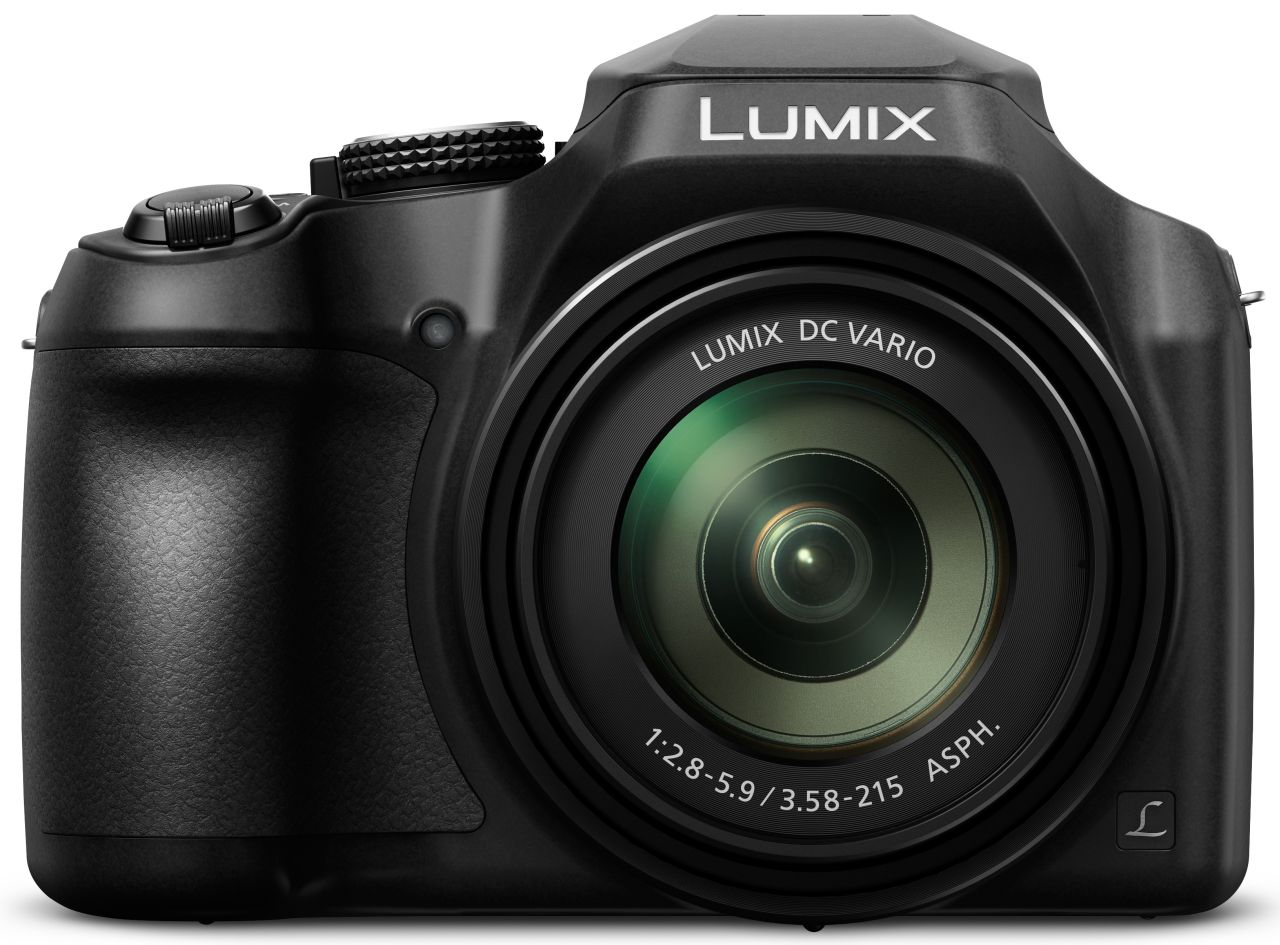 Panasonic - 18.1MP Lumix Ultra Zoom Digital Still Camera - Black